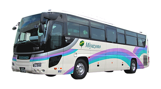 カラオケやボトルクーラーなどの装備、大人数や荷物がたくさんあるご旅行などは観光バス・ハイヤー手配 バリアフリー旅行の東京ナイストラベルの大型観光バスが最適です。